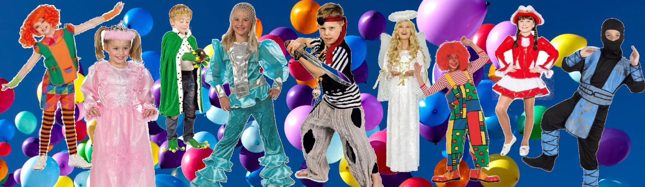 3 Kinder Kostüme