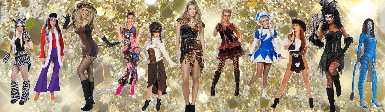 1 Damen Kostüme
