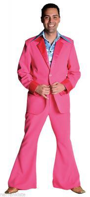 M207201 schwarz Herren Disco Anzug-Kostüm - 8