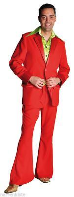 M207201 schwarz Herren Disco Anzug-Kostüm - 9