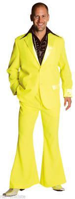 M207201-14 dunkelblau Herren Disco Anzug-Kostüm - 3