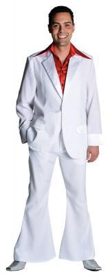 M207201-14 dunkelblau Herren Disco Anzug-Kostüm - 6