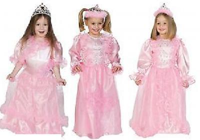 O12212-140-A rosa Kinder Prinzessin Märchenkleid Gr.140 - 1