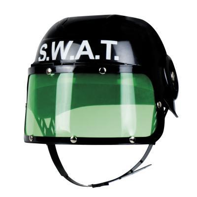 B01392 Kinder SWAT Helm schwarz - 1