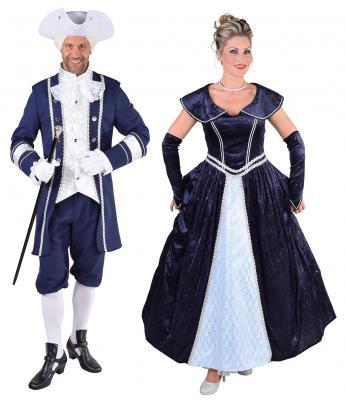 M217110 Damen Rokoko Kleid Kostüm Marquisin Prinzessin - 1