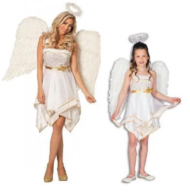 L3100730 Kinderkostüm Engel Engelskleid - 1