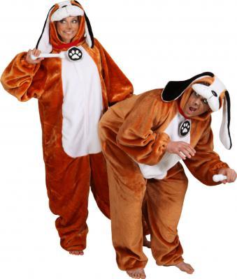 O5230 Kinder Bernhardiner Kostüm Hund Welpe - 2