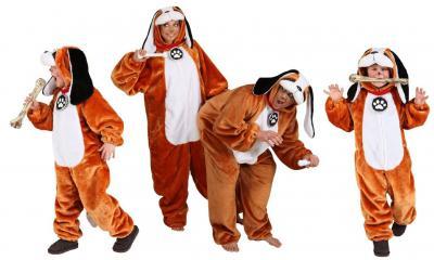O5230 Kinder Bernhardiner Kostüm Hund Welpe - 3