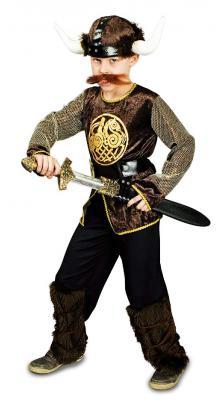 K31250789 Kinder Herren Wikinger Kostüm Ragnar - 1