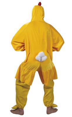 B88004 gelb Kinder Junge Mädchen Damen Herren Huhn Overall-Kostüm - 4