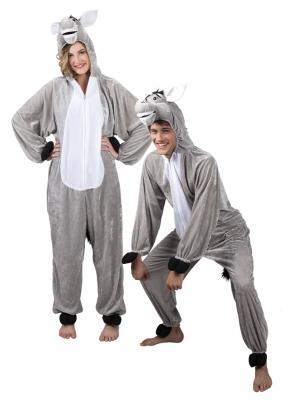 B88010 Kinder Damen Herren Esel Overall-Kostüm - 2