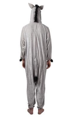 B88010 Kinder Damen Herren Esel Overall-Kostüm - 4
