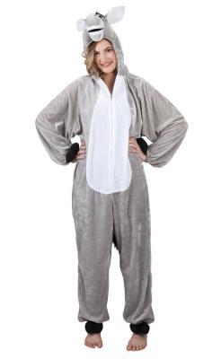B88010 Kinder Damen Herren Esel Overall-Kostüm - 5