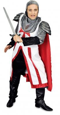 K31250866 Kinder Herren Ritter Kreuzritter Kostüm - 1