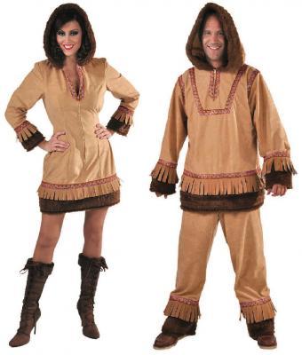 M215277 Eskimo-Forscher Kostüm Eskimomann - 1