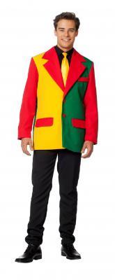 L3302570 rot-weiß Herren Sakko Jacke Blazer - 1
