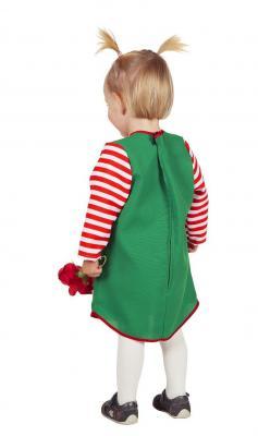 W3483 Baby-Kostüm Grünes-Kleid Karlinchen - 1