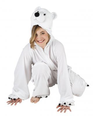 B88026 Eisbär Kostüm Kinder Damen Herren - 2