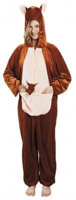 B88024 Känguru Kostüm Kinder Damen Herren - 2