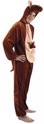 B88024 Känguru Kostüm Kinder Damen Herren - 3