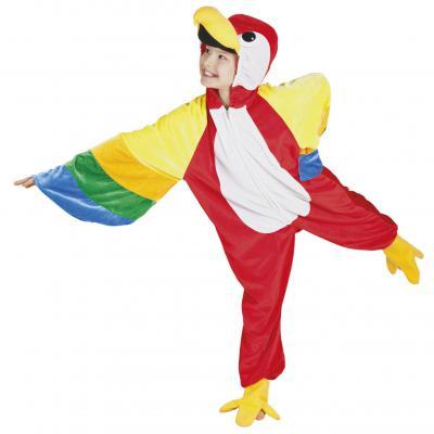 B88046 Papagei Parrot Kostüm Kinder Damen Herren - 1