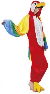 B88046 Papagei Parrot Kostüm Kinder Damen Herren - 2
