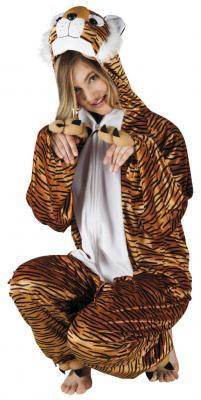 B88018 Tiger Kostüm Kinder Damen Herren - 2