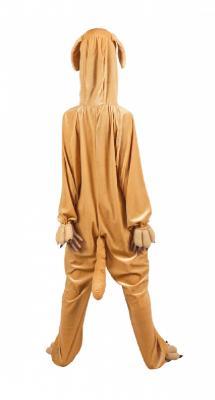 B88050 braun Kinder Mädchen Damen Herren Hunde Kostüm Overall - 4