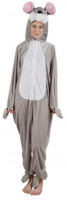 B88040 Maus Kostüm Overall Kinder Mädchen Junge Damen Herren - 2
