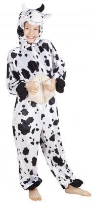 B88002 Kuh Kostüm Overall Kinder Mädchen Junge Damen Herren - 1