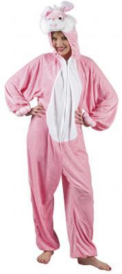 B88014 Hasen Kostüm Overall Kinder Mädchen Junge Damen Herren - 2