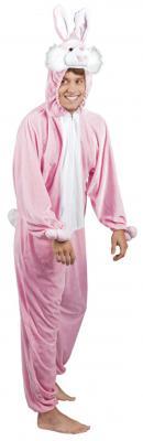 B88014 Hasen Kostüm Overall Kinder Mädchen Junge Damen Herren - 3