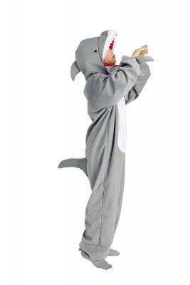 K332542 Hai Kostüm Raubfischkostüm Kinder Damen Herren - 1