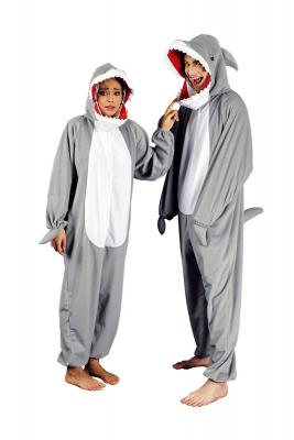 K332542 Hai Kostüm Raubfischkostüm Kinder Damen Herren - 2