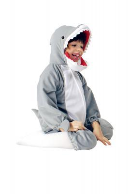 K332542 Hai Kostüm Raubfischkostüm Kinder Damen Herren - 3