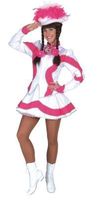 O5194 türkis-weiß Kinder Funkemariechen-Tanzmariechen Kostüm-Uniform - 3