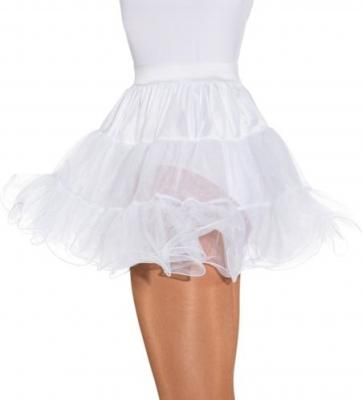 O40025-O40020 Petticoat weiß Kinder-Damen Unterrock Tüllrock 3 lagig - 2