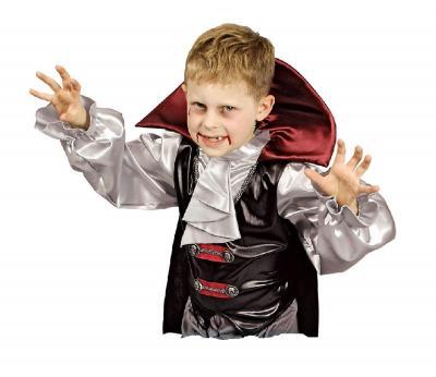 K31250499 schwarz-weiß Kinder Vampirkostüm Halloween - 1