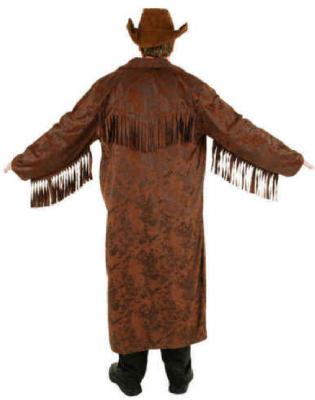 O7176 braun Herren Cowboy Mantel Trapper - 1