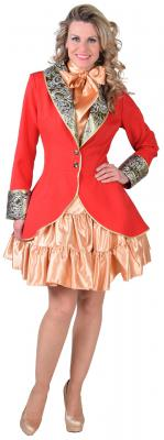 M218188-7-L rot Damen Party Theater Jacke Gr.L - 1