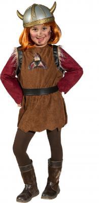 O5263 braun Kinder Wikinger Barbaren Kostüm - 1