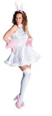 M211114 weiß Damen Engel Kostüm Katze - 2