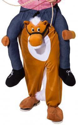 O7820 Pferd CARRY ME Huckepack trag mich Kostüm - 3