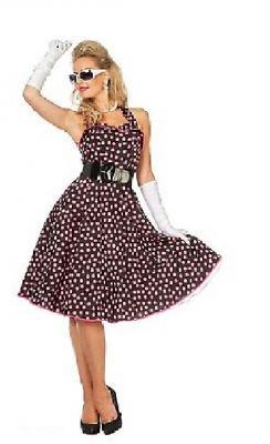 W4532 schwarz-pink Damen Petticoatkleid Boogie Woogie - 3