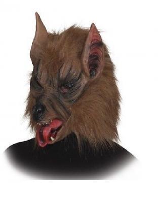 O7663-O40404 Werwolf Kostüm Hemd separat Maske - 1