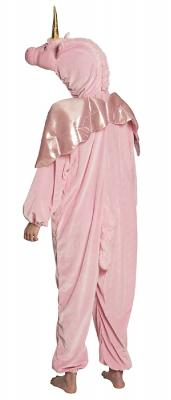 B88062 rosa Kinder Mädchen Jungen Damen Herren Einhorn Overall-Kostüm - 5