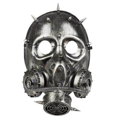 B54526 Damen-Herren Steampunk Gesichtsmaske Gaspunk - 1
