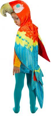 O5035-104 bunt Kinder Mädchen Junge Papagei Weste-Kostüm Gr.104 - 2