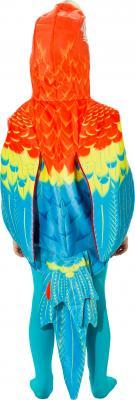 O5035-104 bunt Kinder Mädchen Junge Papagei Weste-Kostüm Gr.104 - 3
