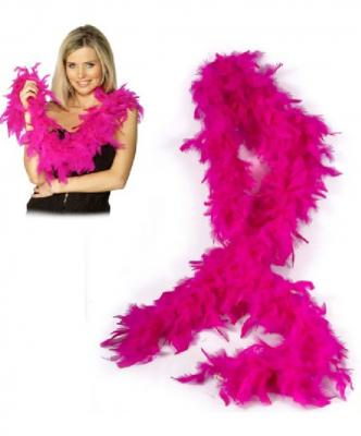 O45003 pink Damen Boa Federstola - 1